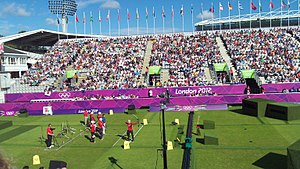 Lord's Cricket Ground Olympic Archery.jpg
