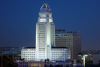 Los Angeles City Hall - Image: Los Angeles City Hall 2013
