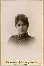 Louise Fahlman, porträtt - SMV - H3 024.tif
