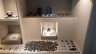 Lovas, Croatia - The Lovas Hoard is kept and displayed in the permanent exhibition of the Archaeological Museum in Zagreb (photo: P. Pavuk, Archaeological Museum in Zagreb, 2018).