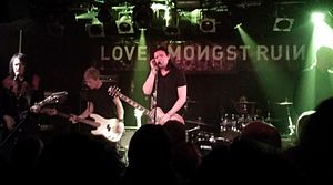 Lose Your Way - Love Amongst Ruin performing in London, November 2015.