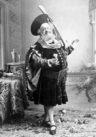 Lucien Fugère - Image: Lucien Fugère in Verdi's Falstaff