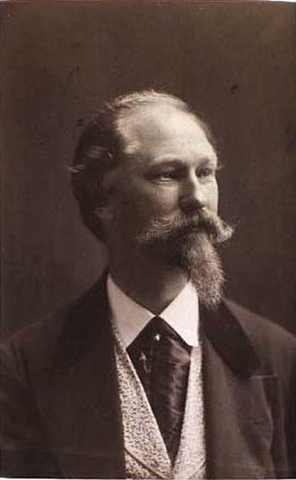 Ludvig Grundtvig - Ludvig Grundtvig: self-portrait