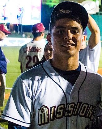 Luis Urías - Urías with the San Antonio Missions at the 2017 Texas League All-Star Game