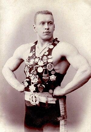 Georg Lurich - Georg Lurich circa 1895