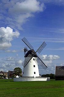Lytham St Annes town in the Fylde district of Lancashire, England
