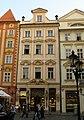 Měšťanský dům U zlatého orla, U koruny (Staré Město), Praha 1, Malé nám. 13, Staré Město.JPG