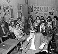 Művelődési Ház (egykor Korona Szálló), ifjúsági klubtalálkozó résztvevői. Fortepan 6687.jpg