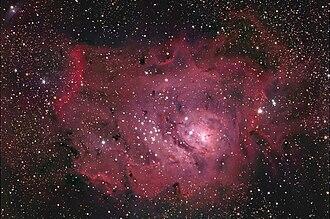 Sharpless catalog - Image: M8Hunter Wilson