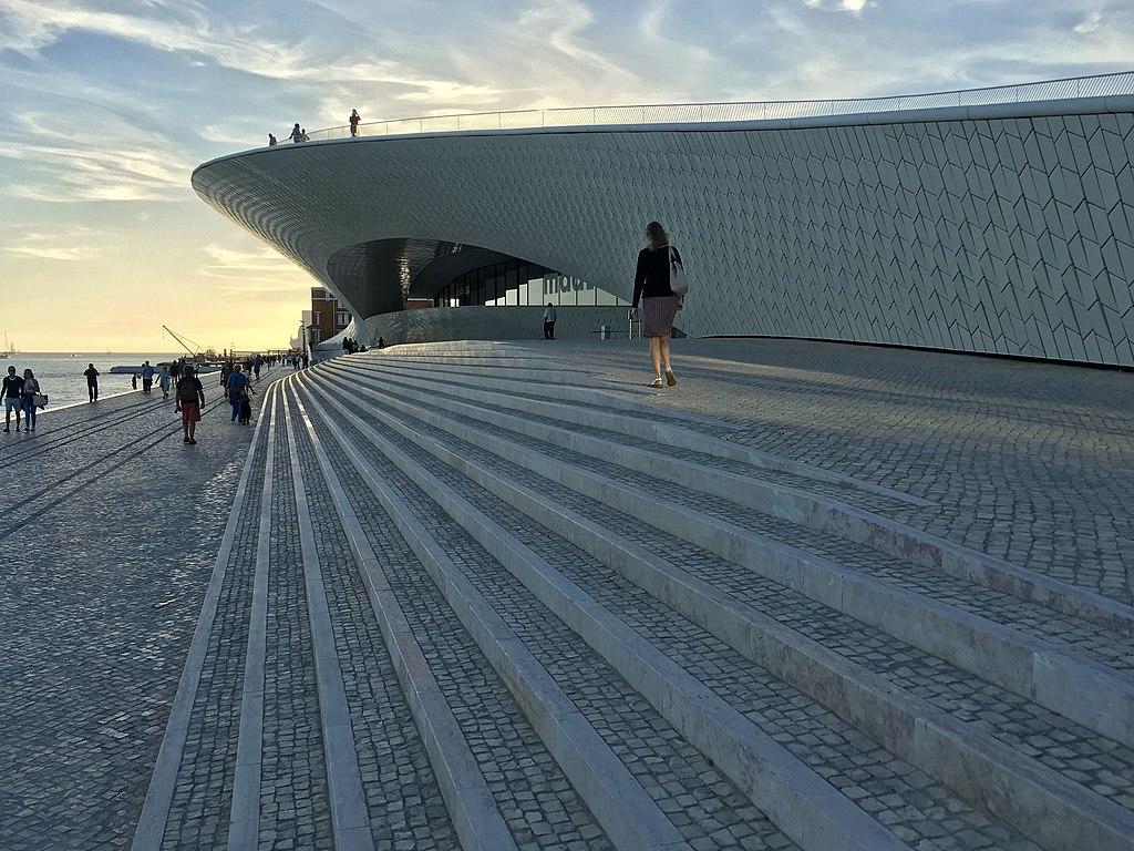 Batiment du MAAT à Lisbonne - Photo de Aires Almeida