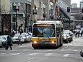 MBTA route 39 bus on Boylston Street, February 2017.JPG