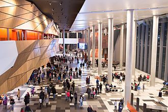 Melbourne Convention and Exhibition Centre - Main Foyer,  Melbourne Exhibition and Convention Centre, June 2015