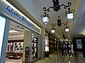 MC 澳門 Macau 路氹城 Cotai 四季名店 Shoppes at Four Seasons mall interior corridor ceiling lamps Nov 2016 Salvatore Ferragamo.jpg
