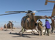 MD 530F helicopters of the Afghan Air Force in 2011