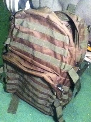 MOLLE - MOLLE system 40l patrol pack