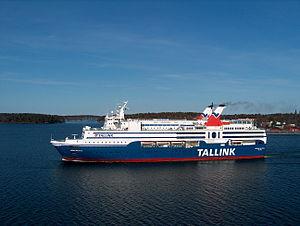 MS Regina Baltica - Image: MS Regina Baltica side