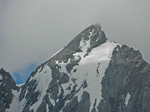 Machoi Peak - Machoi Peak, as seen on an overcast day, in 2013.
