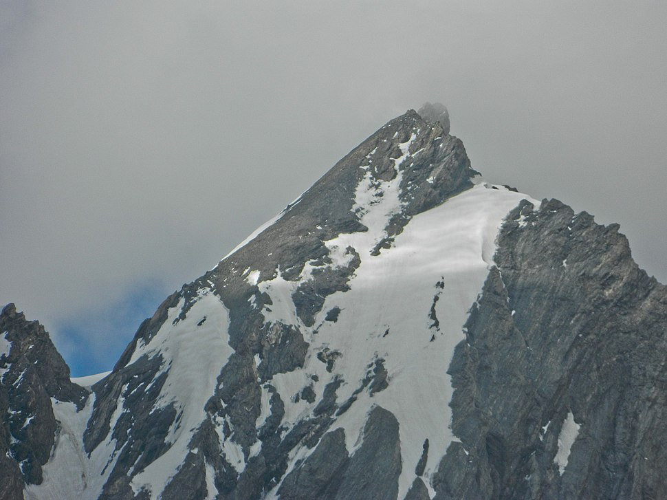 Machoi Peak, as seen on an overcast day, in July 2013