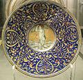 Maestro giorgio da gubbio, piatto con amorino, 1500-1550 ca. 02.JPG