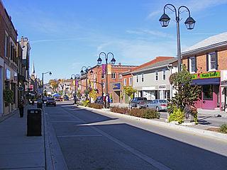Halton Hills Town in Ontario, Canada