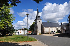 The church in Malicornay