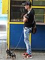 Man with Doggie - Berehove - Ukraine (36502743532) (2).jpg
