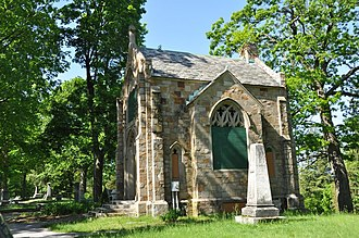 Valley Cemetery - The cemetery chapel