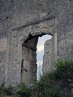 Mangup Historic fortress in Crimea near Sevastopol