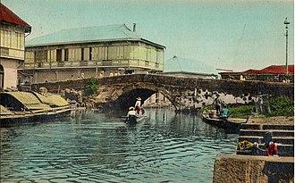History of Manila - Esteros of Manila