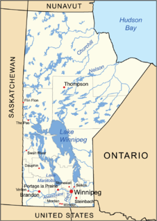 Geography of Manitoba