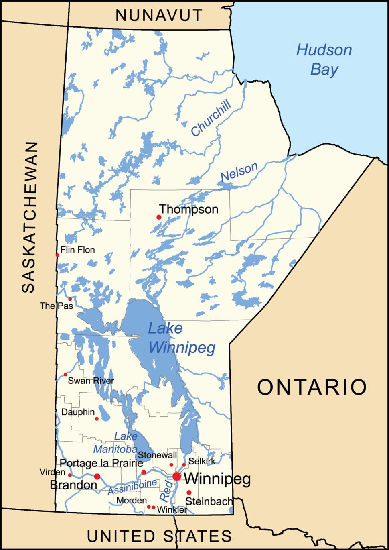 Manitoba generalmap