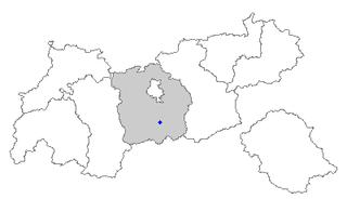 Trins Place in Tyrol, Austria