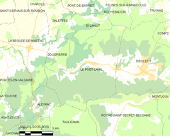 Map commune FR insee code 26243.png
