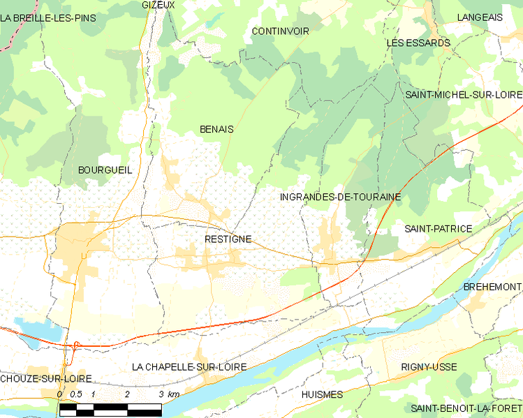 Fil:Map commune FR insee code 37193.png