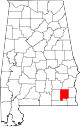 Map of Alabama highlighting Dale County.svg