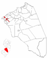 Map of Burlington County highlighting Riverton.png