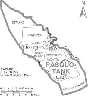 Mount Hermon Township, Pasquotank County, North Carolina township in Pasquotank County, North Carolina