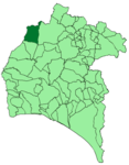 Map of Rosal de la Frontera (Huelva).png