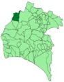Map of Rosal de la Frontera (Huelva).png