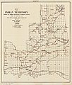 Map of the Indian Territory - showing the progress and status of townsite surveys, under the direction of the United States Indian Inspector for the Indian Territory, June 30, 1902. LOC 2007627518.jpg