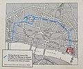 Map of the London Wall Walk, Londinium Roman Wall (40333734062).jpg