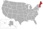 Mapa de los EE. UU. Con la región de la Commonwealth Coast Conference resaltada.png