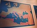 Mapa de l'Imperi Bizantí (o Romà d'Orient) al Museu Bizantí i Cristià d'Atenes.jpg
