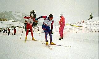 Marco Albarello Italian cross-country skier