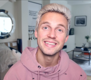 Marcus Butler English YouTuber and model