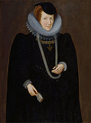 Portrait of a Woman, probably Mary, Lady Scudamore