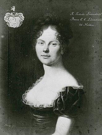 Frederikke Løvenskiold - Image: Margrethe Frederikke Sophie Løvenskiold