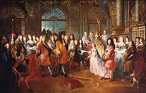 Louis, Duke of Burgundy - Wedding of Louis and Marie-Adélaïde
