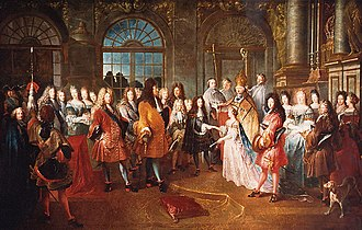 Arranged marriage - The arranged marriage in 1697, of Marie Adélaïde of Savoy, age 12 to Louis, Duke of Burgundy, heir apparent to the throne of France, as a result of the Treaty of Turin (1696). The marriage created an alliance between Louis XIV of France and the Duke of Savoy.
