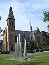 mariaheide (n-br, nl) church and sculpture